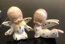 Vintage Ceramic Baby Angel Lot Of 2