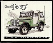 CLASSIC JEEP Collectors/Trading Card Set - Willys' Kaiser & AMC models 1948-1986