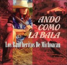 FREE US SHIP. on ANY 2 CDs! NEW CD Rancheritos de Michoacan: Ando Como la Bala