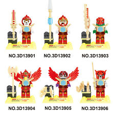 2017 NEW 6 Set LEGENDS OF CHIMA Mini Figures Building Blocks Toys Toy Bricks