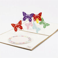 3D Pop Up Greeting Cards Birthday Valentine Easter Anniversary Wedding Card