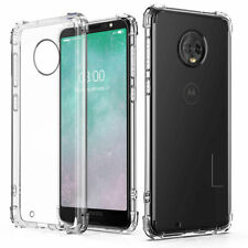 For Motorola Moto Series Cell Phone Shockproof Slim Hard Armor Clear Case Cover
