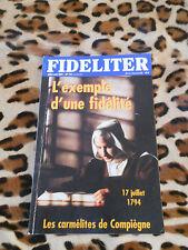 Revue - FIDELITER n° 142, 2001 - L'exemple d'une fidélité
