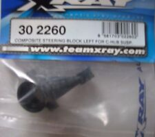 X-Ray Part #302260 Composite Steering Block Left For C-Hub Susp.for the T1
