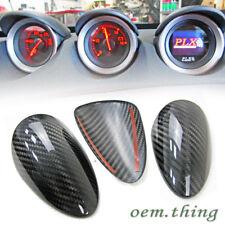 Carbon Fiber Dry For Nissan 370Z Z34 Coupe Interior Gauge Pod Cover Trim 18