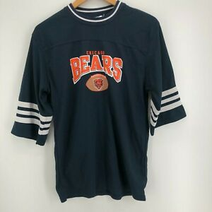NFL Football Jersey Youth XL Blue Chicago Bears NFL Mesh Crew Neck