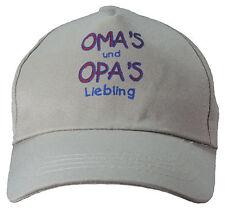 Junior Cap Mütze * Omas & Opas Liebling *  bej