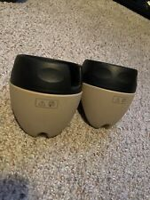 Land Rover Discovery 99-04 Pair of 2 Oem Cup Holders Alpaca
