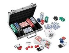 Pokerkoffer Pokerchips 300 Chips á 4,0g Alu Koffer Jetons Pokerset Laser Chips