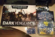Bundle Miniature Warhammer 40000 Dark Vengeance Conquest Space Wolves Marine 40k