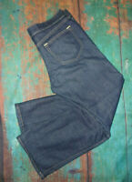 Old Navy THE DIVA size 10 Short (33x29)  Blue Denim Jeans Stretch Boot