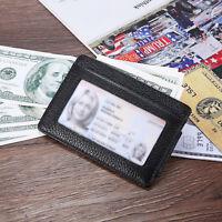 Slim Front Pocket Wallet RFID Blocking Money Clip Magnet Credit Card Holder