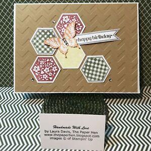 Handmade Card HAPPY BIRTHDAY Free Shipping