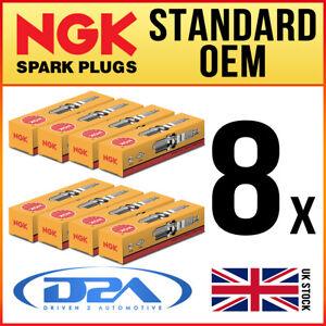 8x NGK BKR6E-11 (2756) Standard Spark Plugs For HONDA JAZZ 1.4 03/02-->04/09