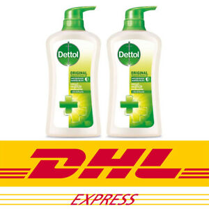 Dettol Antibacterial Original Shower Gel Formula, Pine Fragrance 500ml x 2 Packs