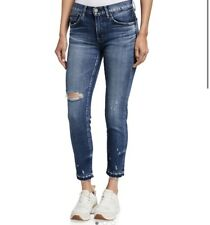 Moussy Vintage Clovis Cropped distressed jeans Size 26 NWT
