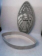 New Listingvintage 1975 cast aluminum American Eagle + Shield Stars box metalware $9.95 Nr