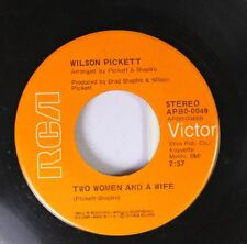 Soul 45 Wilson Pickett - Two Women And A Wife / Take A Closer Look At The Wom 2