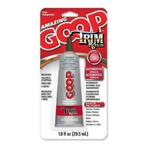 Amazing Goop Trim Repair Automotive 144100 Adhesive 1 oz Nozzle Tip Tube, Clear