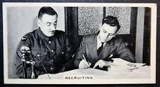 Royal Air Force Recruitment    Vintage 1930's Photo Card  VGC