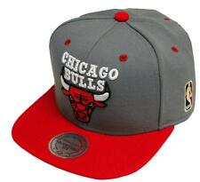 Mitchell & Ness Grey Crown Chicago Bulls NBA Snapback Cap Kappe
