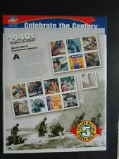 Celebrate The Century - 1940s - Cat # 3186 Sealed Fifteen 33 Cent Stamps MNH OG