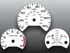1999-2004 Honda Odyssey Dash Instrument Cluster White Face Gauges
