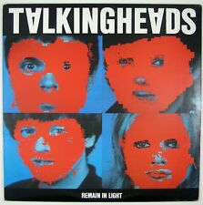 TALKING HEADS Remain In Light LP 1980 NEW WAVE NM- NM-