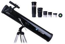 Profi Teleskop Opticon DISCOVERY 114/900/450x + Huygens, Barlow + Mondfilter