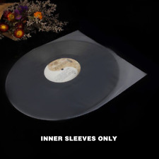 """50pcs 12"""" LP LD Vinyl Record Antistatic Clear Plastic Outer Cover Inner Sleeves"""