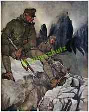 K.u.K. Kaiserschützen Wachposten Paternkofel Gebirgskrieg Toblach Dolomiten 1916