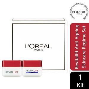 L'Oreal Paris Revitalift Anti-Ageing Skincare Regime Set Day and Night Cream