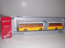 Herpa #832001 Setra Articulated Bus Yellow & White H.O.Gauge