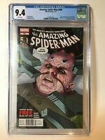 Amazing Spider-Man #698 CGC 9.4 Rare $3.99 Newsstand Variant Cover Marvel Comics