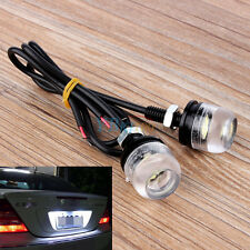 2PCS 12V White LED License Plate Screw Bolt Light Lamp FOR Car Motorcycle