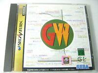 Sega Saturn Game Ware 1 Sega Saturn SS Japan Game w/Obi