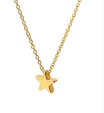 Minimalist  Star Gold Plated Women Jewellery  Pendants Necklace.