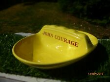 COLLECTABLE : JOHN COURAGE * CERAMIC ASHTRAY : NICE CONDITION : LOW RESERVE