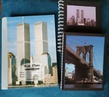 Lot Of 3 New York City Hardcover Lined Journals 2 Spiral 1 Composition Notebook