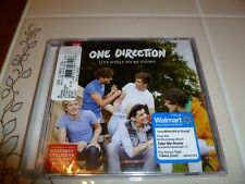 LIVE WHILE WE'RE YOUNG - ONE DIRECTION NEW SEALED U.S. 2 TRACK CD SINGLE/POSTER