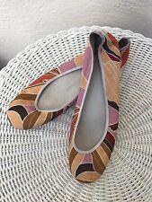 Delman Classic Ballet Shoes Sz 7 B Worn Once