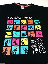 (L) LONDON PARALYMPIC GAMES 2012 Black Shirt Wheelchair Adaptive Amputee