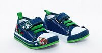 Canvas infant baby boy shoes trainers size 3.5 - 8 UK (20 -25 EUR)