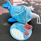 Official Genshin Impact Whale Plush Keychain Tartaglia Childe's Narwhal Doll Toy