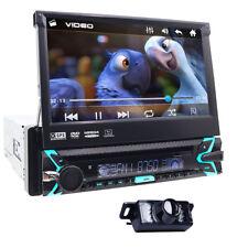AUTORADIO 1 DIN NAVIGATORE UNIVERSALE CON LETTOE DVD GPS USB SD STEREO CAMERA