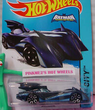 Case C/D 2015 Hot Wheels BATMOBILE #63∞Blue; TRAP5∞Batman Brave and the Bold