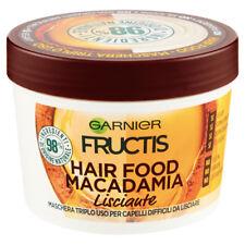FRUCTIS HAIR FOOD MACADAMIA LISCIANTE MASCHERA TRIPLO USO 390 ML