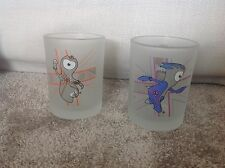 Wenlock And Mandeville Olympic 2012 Mascot Glasses *never Used*