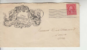 RARE G.W.BICENTENNIAL SAGO,MAINE MAY 2 1932 ULTRA ARTISTIC CACHET BEAUTIFUL NICE
