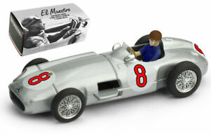 Brumm R072-CH Mercedes W196 1955 - Juan Manuel Fangio World Champion 1/43 Scale